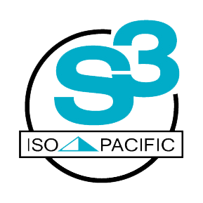 S3 Logo with clear background